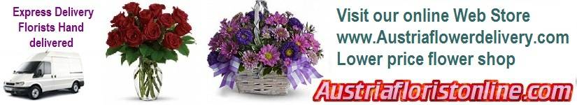 Your online local florist Service in Austria. Send gifts flowers to throughout Austria. International flower Shops today delivery extends to Germany, France, Belgium, Greece